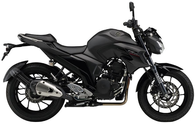 Yamaha FZ25 ABS Black