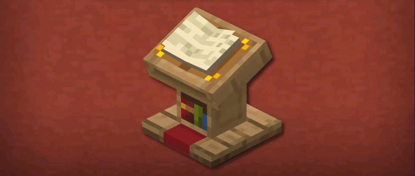 Minecraft Lectern Minecraft Lectern Recipe Patchescrafts