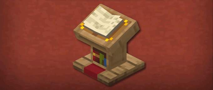 Minecraft Lectern | Minecraft Lectern Recipe | Patchescrafts
