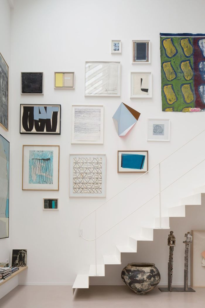 Art Filled and Airy in Paris- design addict mom #gallerywall