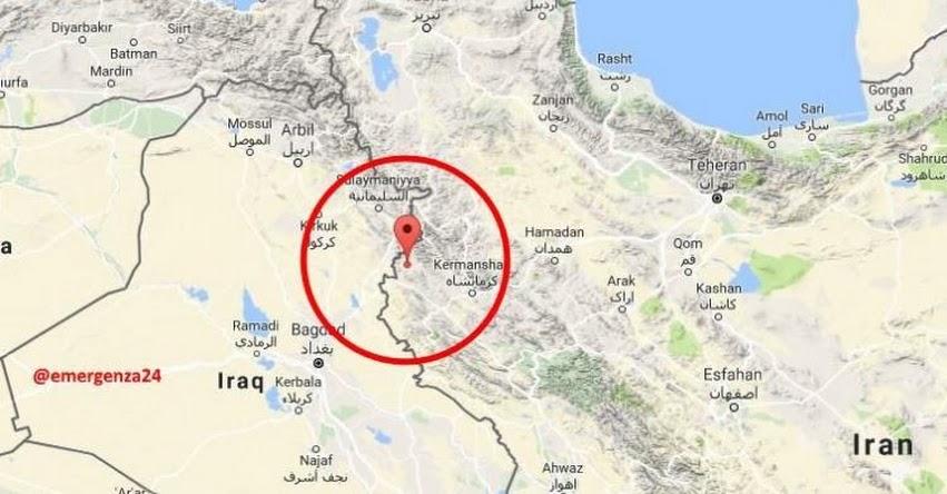 TERREMOTO EN IRAK de 7.3 Grados - Alerta de Tsunami (Hoy Domingo 12 Noviembre 2017) Sismo Temblor EPICENTRO Suleimaniya - Bagdad - Kermanshaj - USGS