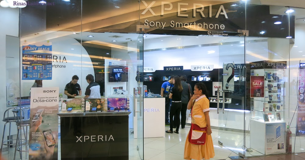 Rina's Rainbow: Sony Xperia's Awesome Sale on Robinsons Malls!