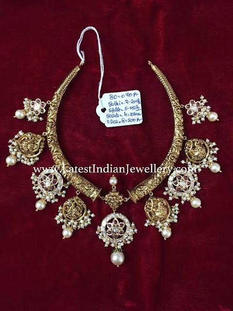 Balaji Kanti Necklace