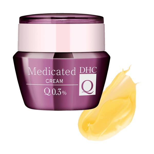 Bộ dưỡng da dược mỹ phẩm DHC Medicated Q cao cấp, Hàng Nhật