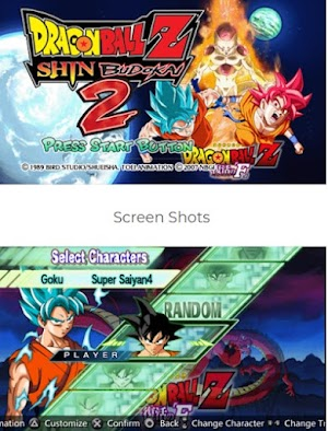 Download Dragon Ball Z Shin Budokai 2 Mod CSO PPSSPP PSP