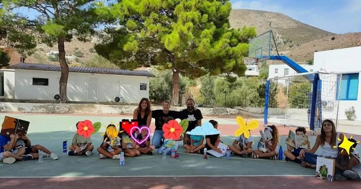 Greek School On The Island of Tilos Opens Its Doors To 17 Refugee Children, Who Now Make Up A Third Of Schoolchildren On The Island