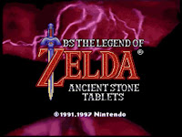 Legend of Zelda - Ancient Stone Tablets