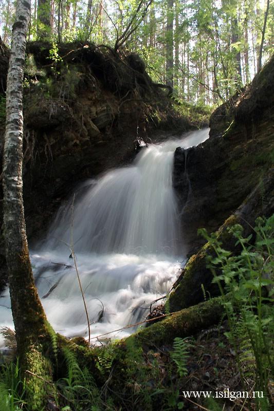 Гудковский водопад Челябинская область