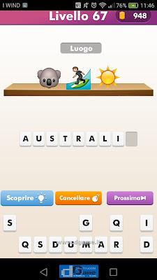 Emoji Quiz soluzione livello 67