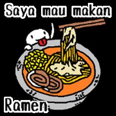 (Indonesian)I want to eat Ramen