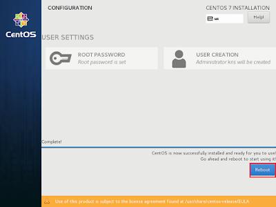 Cara Install Centos 7 Minimal Server
