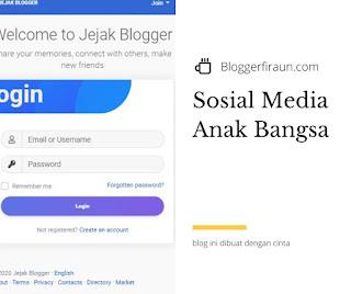 Jejak Blogger media sosial karya anak bangsa