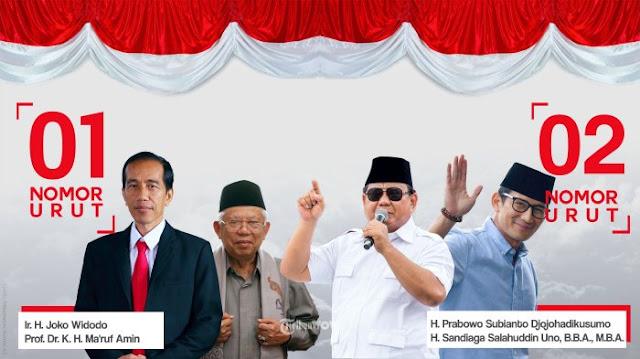 Prabowo-Sandiaga Menang Telak dari Jokowi-Ma'ruf Amin di 2 Polling Pilpres 2019 Versi Mata Najwa