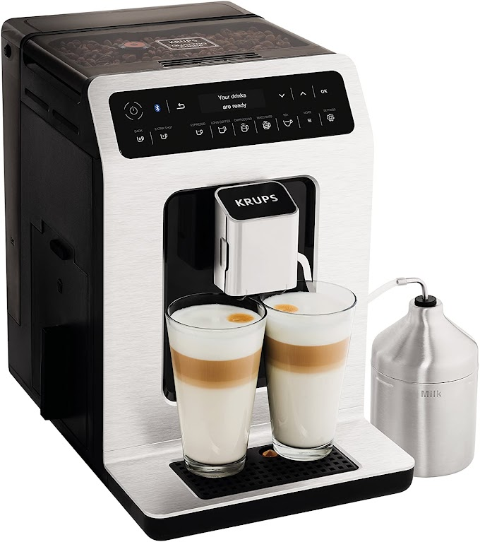Krups Evidence EA893D40 Automatic Espresso Bean to Cup Coffee Machine