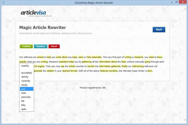 برنامج إعادة صياغة المقالات مجانا وجعلها حصرية