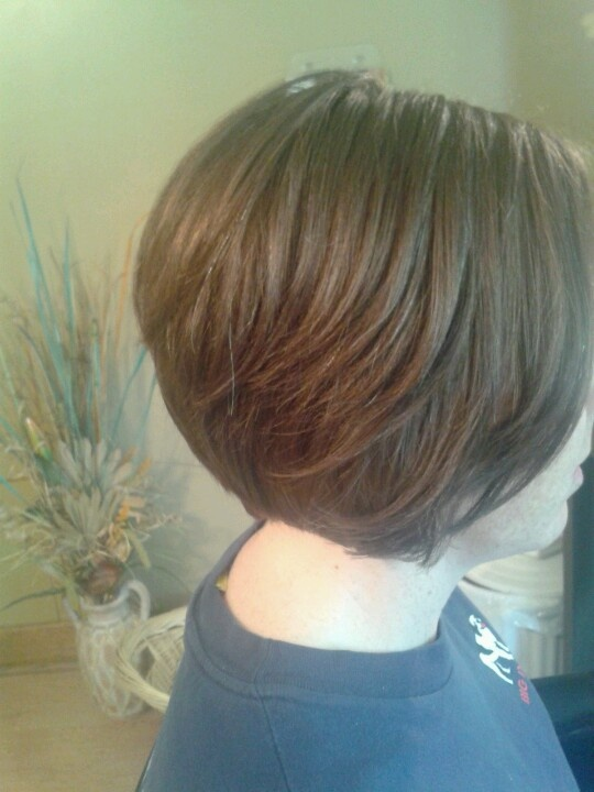 Stacked Short Bob Haircuts