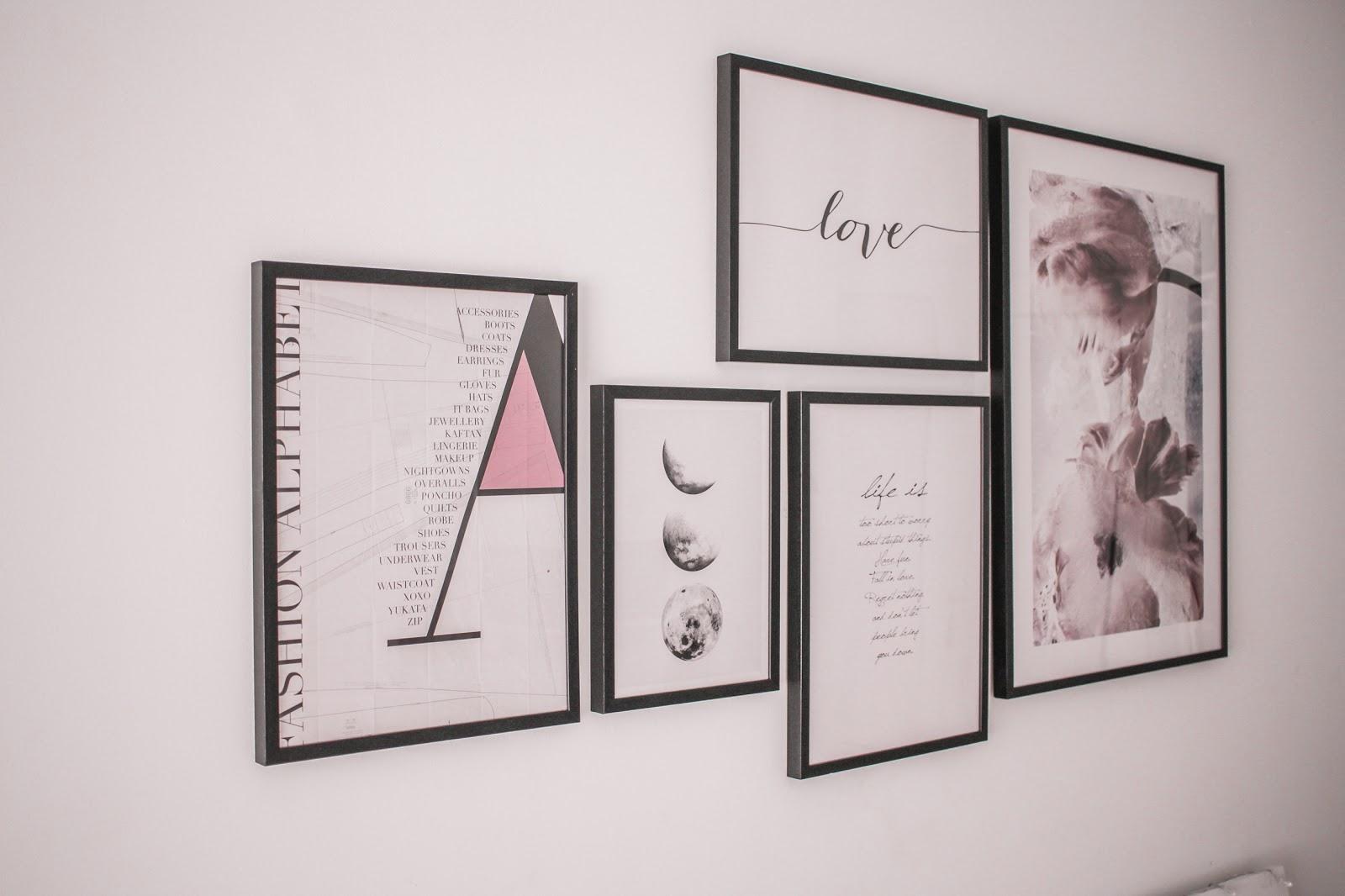 HOME INSPIRATION: cambiare look alla vostra casa aggiungendo quadri!