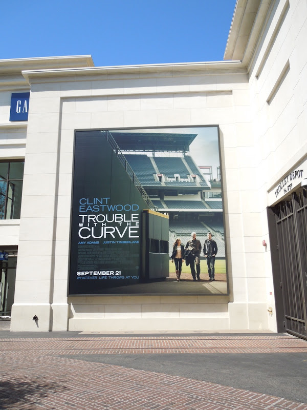 Trouble with Curve movie billboard