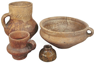 Ceramic Tableware. - Volga Bulgaria, XI-XIII centuries.