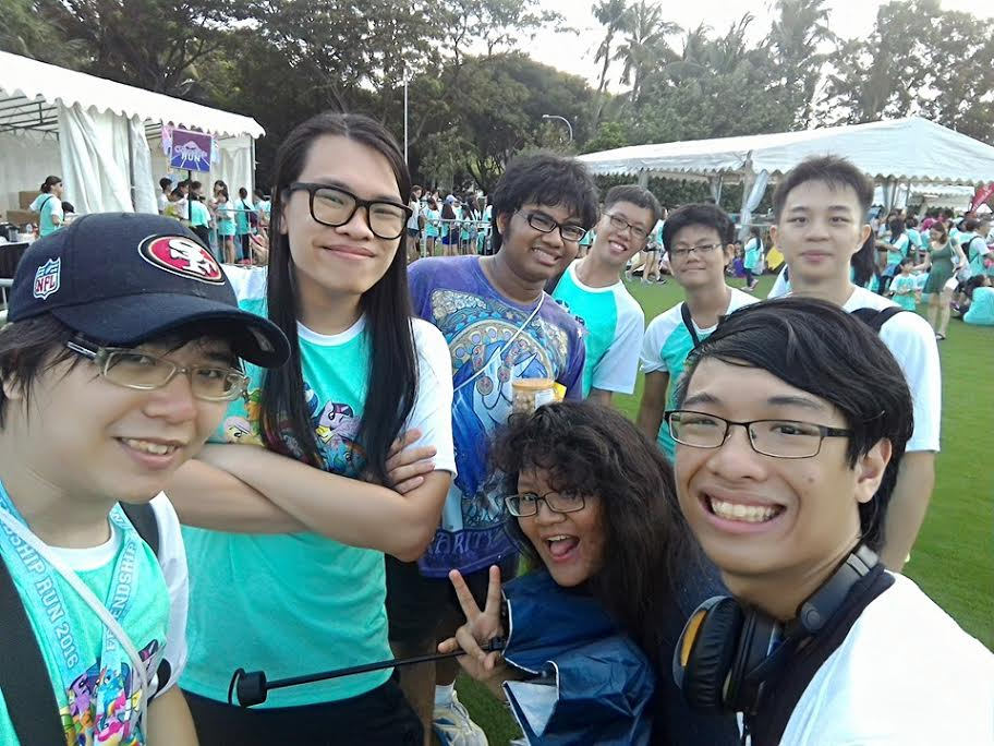 The Friendship Run Happened in Singapore - Gallery of Rewards and the Event