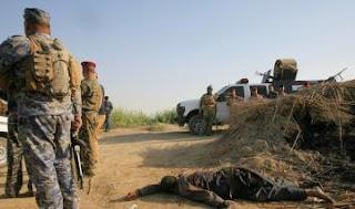 عاجل تم قتل انتحاريين يرتديان حزامين ناسفين شمالي العاصمة بغداد