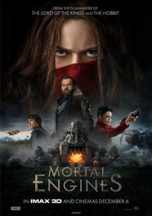 Mortal Engines 2018 Full Hindi Movie Download Dual Audio HDTS