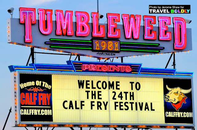 Tumbleweed Dancehall and Concert Arena hosts Calf Fry aka TheTesticle Festival each spring for the last 25 years Photo by Jerome Shaw for Travel Boldly