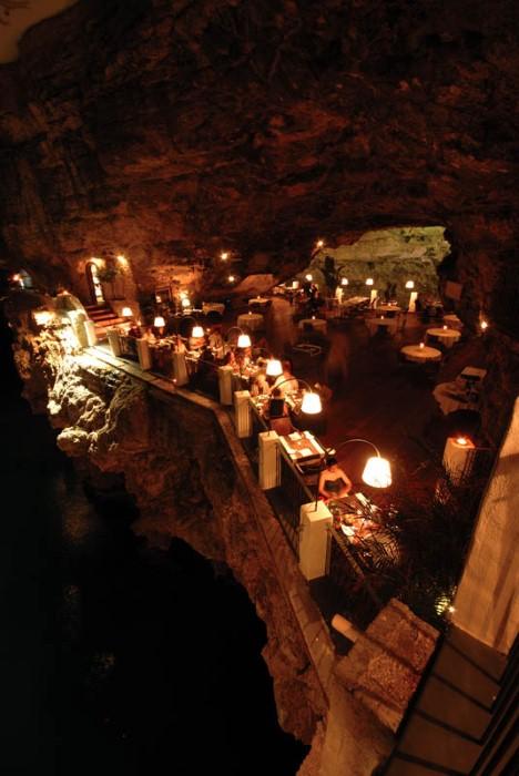 Grotta Palazzese - ресторан у моря 20