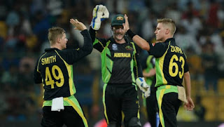 Australia vs Bangladesh 22nd Match ICC World T20 2016 Highlights