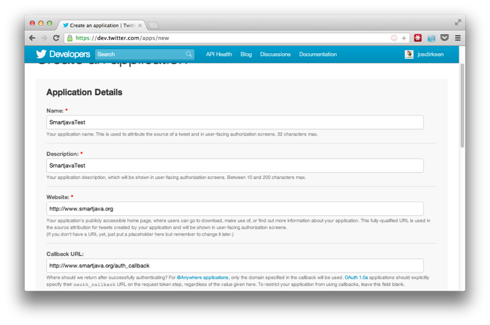 Twitter REST API from Scala and Java using signpost | Java