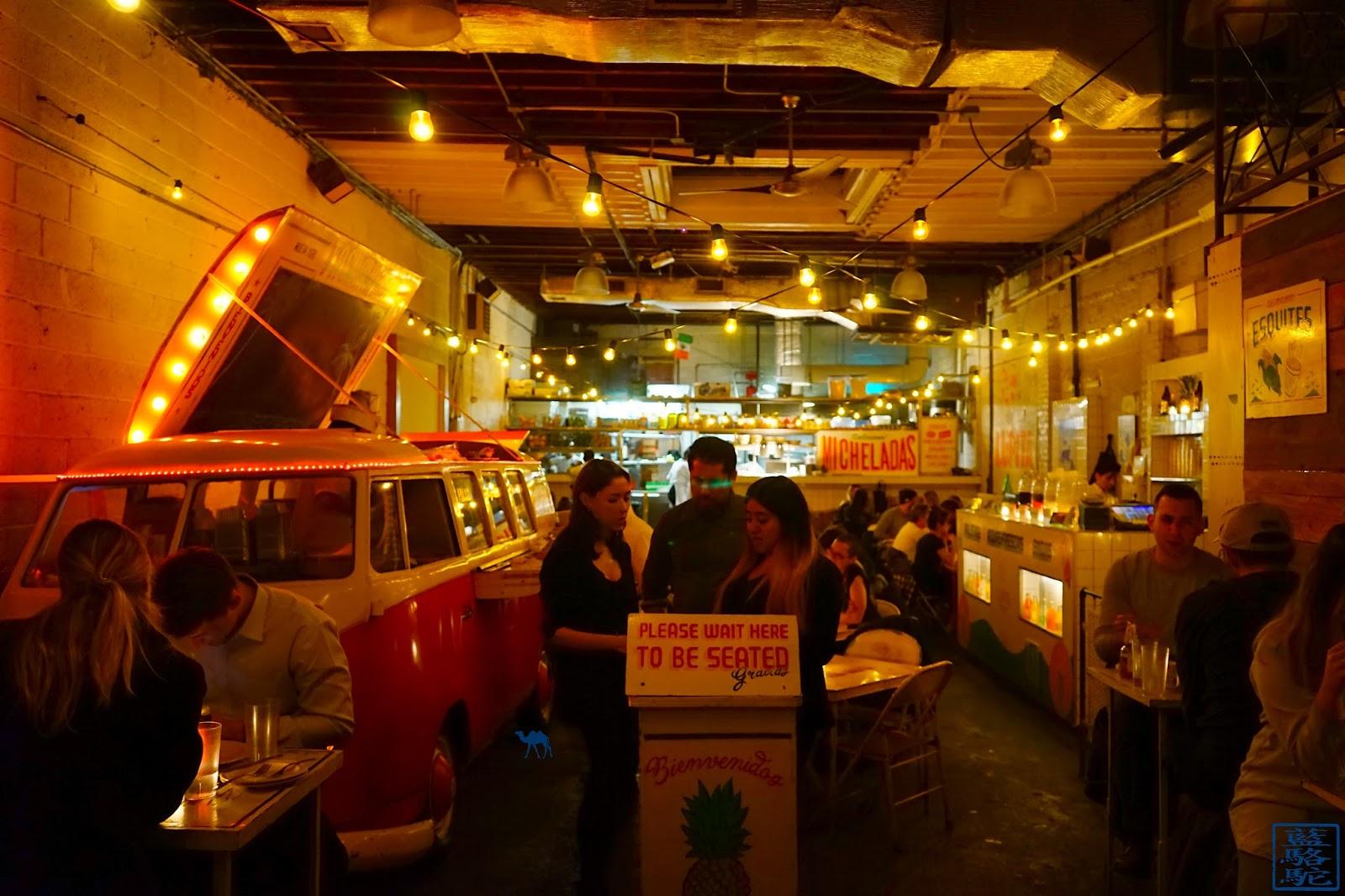 Le Chameau Bleu - Tacombi - Restaurant Mexicain à New York USA