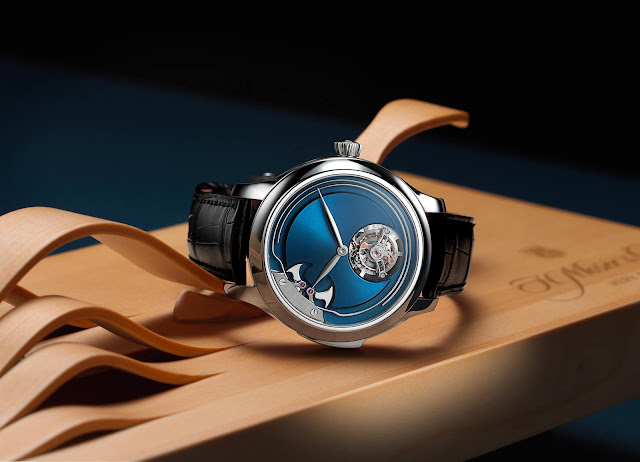 H. Moser & Cie. Endeavour Concept Minute Repeater Tourbillon in Titanium