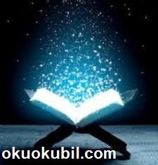 Asıl Okunacak Şey Kur'an