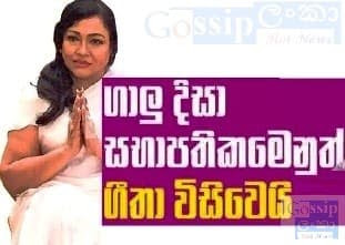 Geetha Kumarasinghe - Co-Chairman of the Galle District Coordination Committee