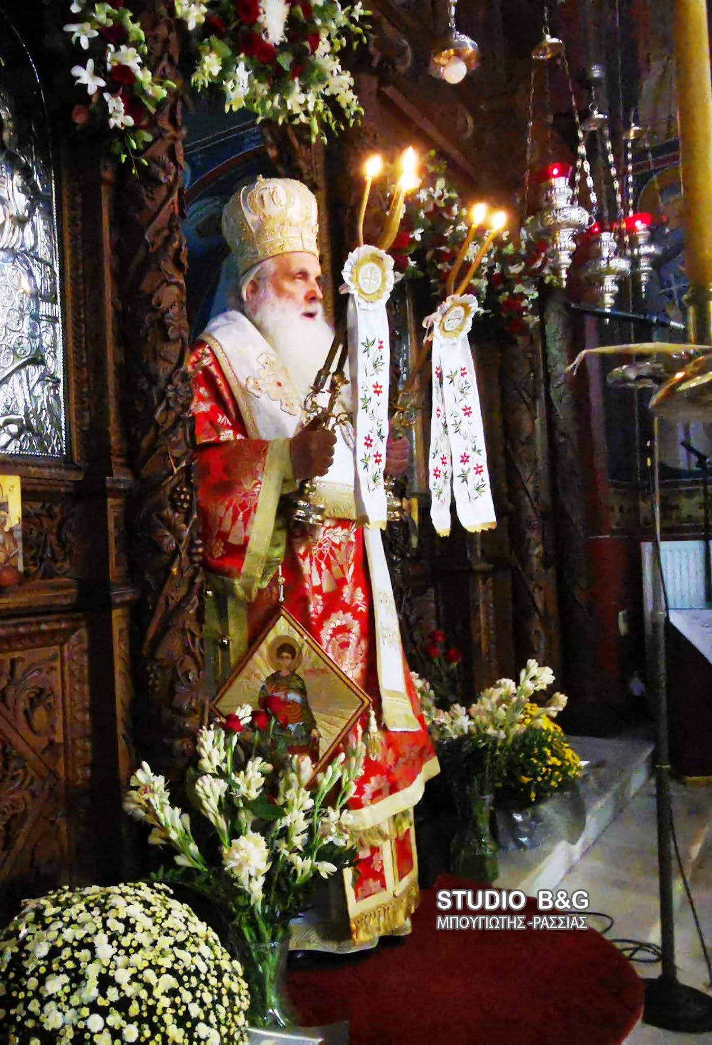 Η εορτή του Αγίου Δημητρίου στην Ιερά Μονή Καρακαλά