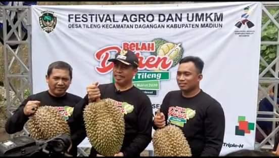 Belah Durian Festival Tahunan Kabupaten Madiun