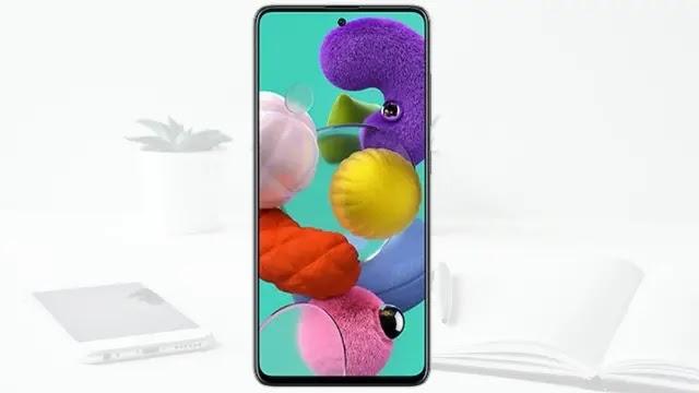 شاشة Infinity-O Super AMOLED لجهاز A51
