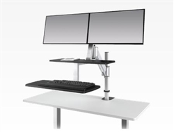 ESI ErgoRise Sit To Stand Workstation at OfficeAnything.com