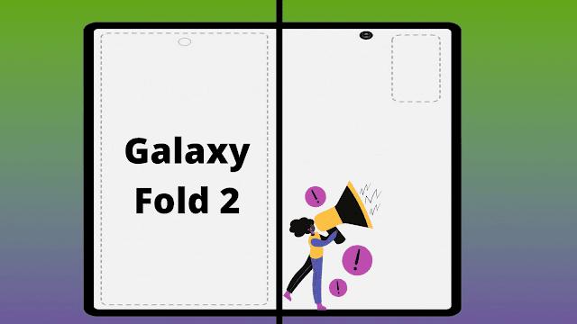 مواصفات شاشة Samsung Galaxy Fold 2