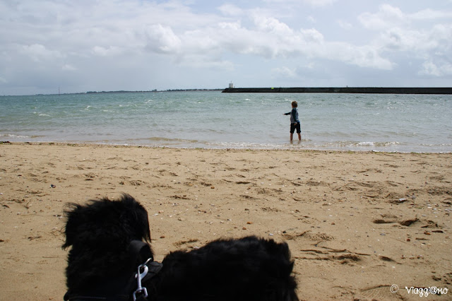 Inizio della Spiaggia des Sableaux a Noirmoutier en Ile