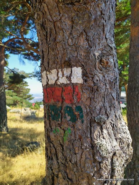 rutas señalizadas en Sierra de Guadarrama