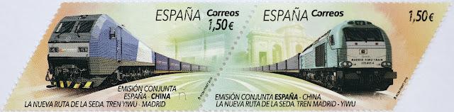 EMISIÓN CONJUNTA ESPAÑA-CHINA