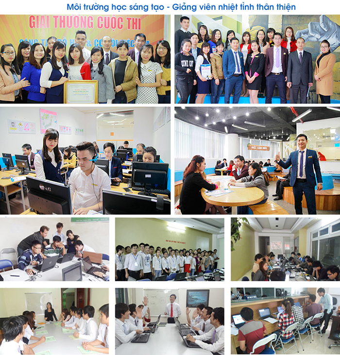 Môi trường học tập, làm việc tại Việt Tâm Đức