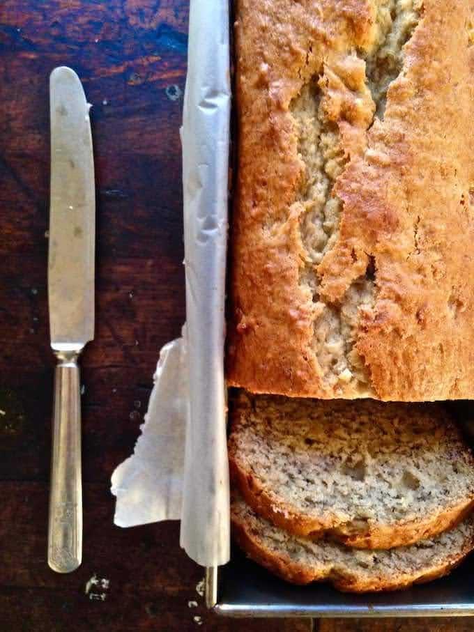 Soft Ricotta Banana Bread from ¡HOLA! JALAPEÑO