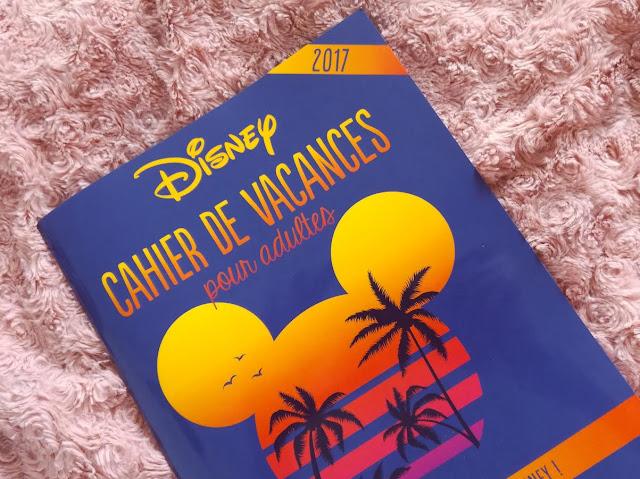 Cahier de vacances pour adultes Disney Hachette