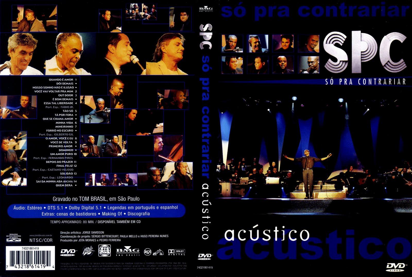 dvd so pra contrariar acustico