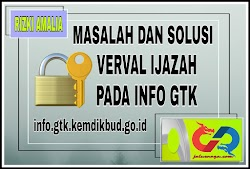 Masalah Dan Solusi Verval Ijazah Pada Info GTK