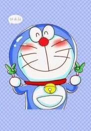 gambar animasi Doraemon lucu dan imut