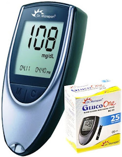 Dr. Morepen GlucoOne Blood Glucose Monitor for home use