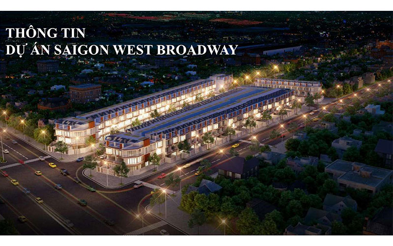 phố thương mại saigon west broadway